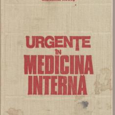 (C3763) URGENTE IN MEDICINA INTERNA DE GHEORGHE MOGOS, EDP, BUCURESTI, 1983, DIAGNOSTIC, TRATAMENT