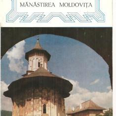(C3759) MANASTIREA MOLDOVITA, EDITATA DE MITROPOLIA MOLDOVEI SI SUCEVEI, 1971