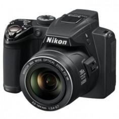 Aparat foto digital Nikon Coolpix P500, Negru - Aparat Foto compact Nikon, Compact, 12 Mpx, Peste 20x, 3.0 inch