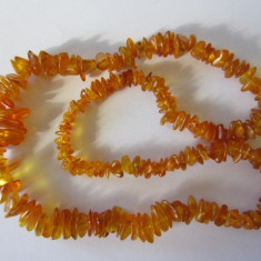 CHIHLIMBAR AMBER - COLIER VINTAGE 68 cm
