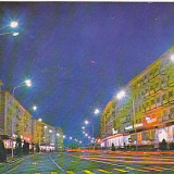 Buzau, vedere carte postala circulata 1975