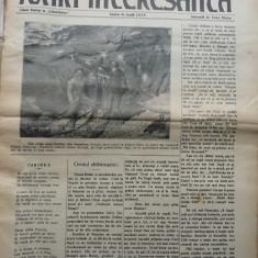 Foaia interesanta, Orastie, 23 iulie 1914 ;Intocmita de Ioan Mota, tatal lui Ionel Mota, membru marcanat al miscarii legionare, ucis la Majadahonda - Carte Editie princeps