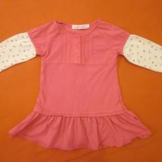 Rochita fetite 18-24 luni, firma Fox, aproape noua!, Culoare: Roz, Roz