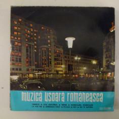 Disc vinil vinyl pick-up MEDIU Electrecord MUZICA USOARA ROMANEASCA Tinerete Mandoline Alexandru Imre Sile Dinicu Constantin Draghici EDD-1157