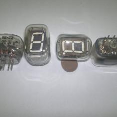 Tub electronic afisaj VFD model IV-22 (era Nixie) tip 7 segmente (lot 6 buc.)