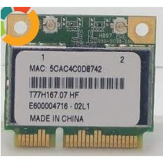 +2039 Atheros Acer Aspire 5253 5742 5750 T77H167.07 Half Height Wireless Mini