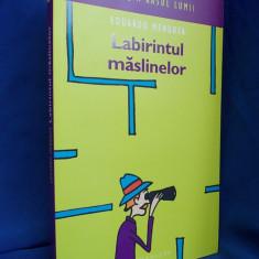 EDUARDO MENDOZA - LABIRINTUL MASLINELOR(ROMAN UMORISTIC) - BUCURESTI - 2006 - Carte in spaniola