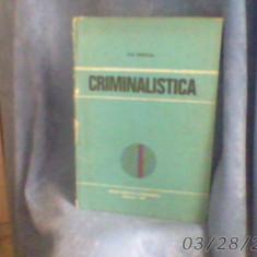 CRIMINALISTICA de ION MIRCEA