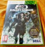 Binary Domain Limited Edition, xbox360, sigilat, alte sute de jocuri!, Shooting, 18+, Single player