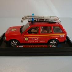 RANGE ROVER,, FIRE SERVICE''-BBURAGO made in Italy- SCARA 1/25-++2100 DE LICITATII !! - Macheta auto