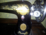 1902 SINGER masina de cusut functionala de colectie