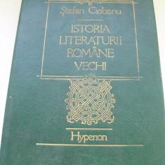 ISTORIA LITERATURII ROMANE VECHI STEEFAN CIOBANU - Studiu literar