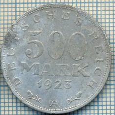 896 MONEDA  - GERMANIA   - 500 MARK  -anul 1923 A -starea care se vede