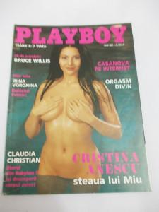 Revista Playboy - Cristina Anescu - 2001 iulie