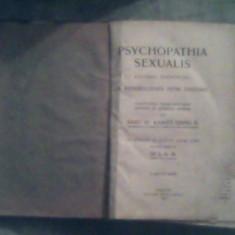 Psychopathia sexualis-Kulonos Tekintettel a rendellenes nemi erzesre Dr.Krafft-Ebing R