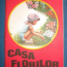 Casa florilor - Valentina Dima 1976 - Carte educativa