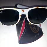 Ray Ban Wayfarer Sunglasses B2140-2 C9 Italy - Ochelari de soare Ray Ban, Femei, Negru, Protectie UV 100%, Polarizate