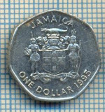 1024 MONEDA  - JAMAICA  - ONE DOLLAR  -anul 1995  -starea care se vede