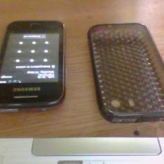 Vand samsung galaxy y - Telefon mobil Samsung Galaxy Y, Negru, Neblocat