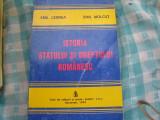 Istoria statului si dreptului romanesc Emil Cernea
