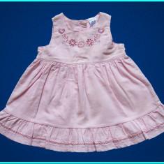 NOUA, DE FIRMA _ Rochita foarte frumoasa, catifea roz TU _ fetite | 0 - 3 luni +, Marime: Alta