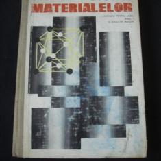 POPESCU NICULAE - STUDIUL MATERIALELOR {1974}