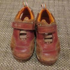 Pantofi marimea 22 - Adidasi copii Clarks, Culoare: Maro, Unisex, Maro