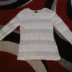 Haine Dama Pimkie - Bluza dama H&m, Marime: S, M, L, Culoare: Alb, Negru, Maneca lunga