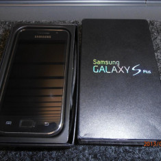 Samsung Galaxy S Plus, 8GB, Negru, Neblocat