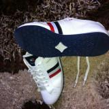 Adidasi - Adidasi barbati Tommy Hilfiger, Marime: 40, Culoare: Alb, Alb
