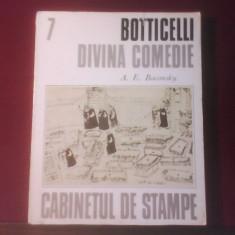 A. E. Baconsky Botticelli Divina Comedie - Album Arta