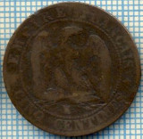 977 MONEDA  - FRANTA  - 5 CENTIMES  -anul 1856 M sau W, pare o batere suprapusa, sau eroare de batere - NAPOLEON III -starea care se vede