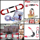FLEX SHAPER APARAT MULTIFUNCTIONAL FITNESS + DVD GHID CADOU EXERCITII FIZICE