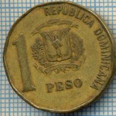 1034 MONEDA -REPUBLICA DOMINICANA - 1 PESO -anul 1992 -starea care se vede