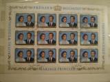 LUXEMBURG  -  bloc timbre stampilate comemorativ  -  Nunta regala  - 1981, Europa, Sarbatori