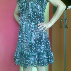 Rochie firma ZERO marimea 38, arata excelent! - Rochie de zi, Culoare: Negru, Scurta, Poliester