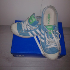 Tenisi adidas turcoaz - Tenisi barbati Adidas, Marime: 46