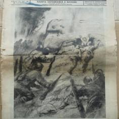 Sentinela, gazeta ostaseasca a natiunii, nr. 28, 28 Iunie 1942, razboiul din est, Crimeea, Kerci, Marina Militara - Ziar