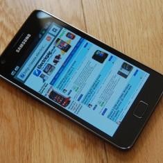 Samsung Galaxy S2 - vand sau schimb cu sony / sony ericsson - - Telefon mobil Samsung Galaxy S2, Negru, 16GB, Orange