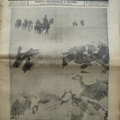 Sentinela, gazeta ostaseasca a natiunii, nr. 5, 16 Ianuarie 1942, razboiul din est, Gara Radauti, Crimeea - Ziar