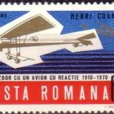 LP 750 - Avionul cu reactie - Henri Coanda, Aviatie, Nestampilat