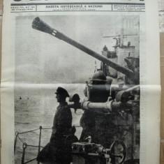 Sentinela, gazeta ostaseasca a natiunii, nr. 33, 2 August 1942, razboiul din est, Ziua Marinei - Ziar