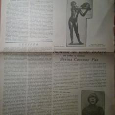 Ziarul viata literara 1 decembrie 1928-articolul