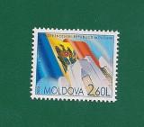 MOLDOVA 2002 - 15 ANI DE LA INDEPENDENTA REP. MOLDOVA -  MI. 564