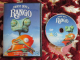RANGO - filmul cu vocea lui Johnny DEPP 2011 (DVD original din Anglia, in stare impecabila!!!), Engleza