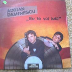 Adrian Daminescu Eu te voi iubi album disc vinyl Muzica Pop electrecord usoara slagare, VINIL