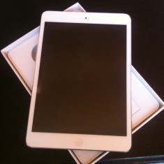 IPad Mini White 16 GB WiFi - Tableta iPad mini Apple, Alb