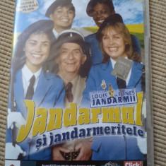 Jandarmul si jandarmeritele louis de funes colectia adevarul dvd disc film - Film comedie, Romana
