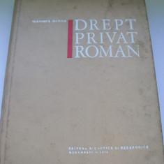 DREPT PRIVAT ROMAN VLADIMIR HANGA - Carte Jurisprudenta