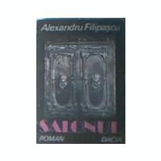 Alexandru Filipascu - Salonul - Carte de aventura
